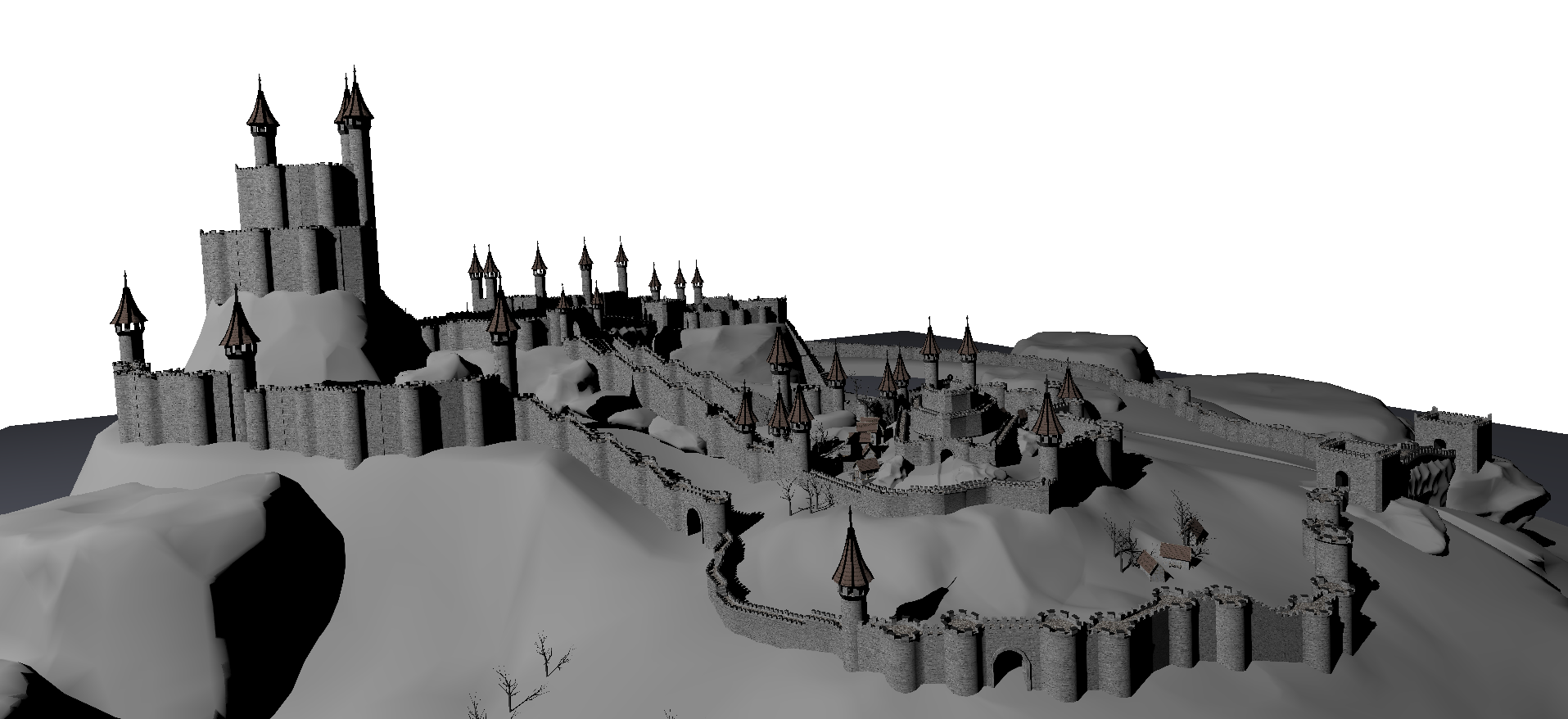 Fast, Memory-Efficient Construction of Voxelized Shadows